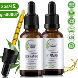 Premium Organic Hemp Oil for Pain Relief,Anxiety,Reduce Stre