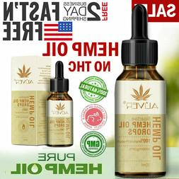 2 pack US Best hemp oil Extract for Drops for Pain Relief, S
