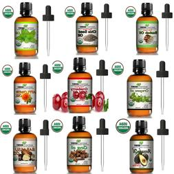 100% Pure virgin 4 oz essential oil with glass dropper, Free