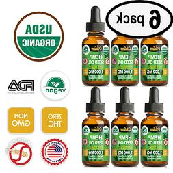 Best Hemp Oil Drops for Pain Relief, Stress, Sleep PURE & OR