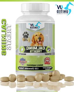 Calming Treats for Dogs - Hemp Oil, Anxiety and Stress, Orga