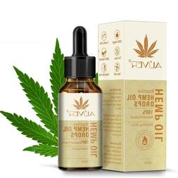 Hemp Essential Oil Drops All Natural Pain Stress Relief 3000