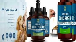 Hemp Oil for Dogs and Cats  #1 Calming Treats for Dogs -