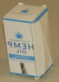 Hemp Oil For Dogs Cats 1000mg Veterinary Grade Pain And Anxi