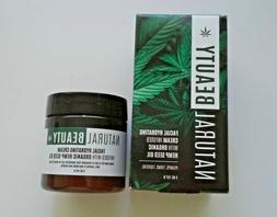 Natural Beauty. Hydrating Cream with Hemp Seed Oil, 57 gr.