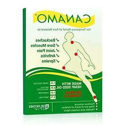 CANAMO Pain Relieving Patches with Hemp Oil for Arthritis, B